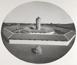 The general view of the Central Jail from the top gate [Junagadh]